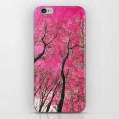 Pink Trees iPhone & iPod Skin