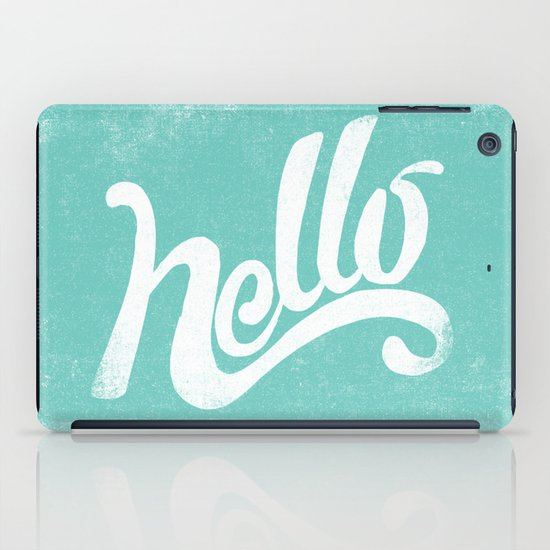 HELLO iPad Case