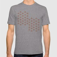Peachy Infinity Mens Fitted Tee Athletic Grey SMALL
