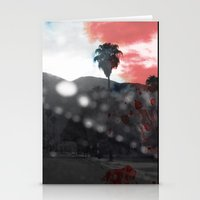 ROSSO/BLU In L.A. Stationery Cards