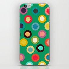 green pop spot iPhone & iPod Skin
