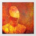 The faceless man Canvas Print