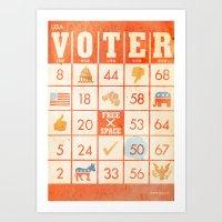 The Bingo Vote Art Print