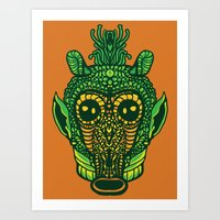 Greed Dough Art Print