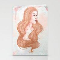 Pink Alice  Stationery Cards