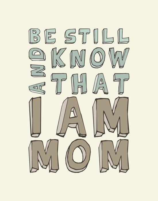 I Am Mom Canvas Print