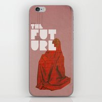 The future a time to reminisce. (mixed media) iPhone & iPod Skin