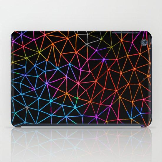 Geometric Glow iPad Case