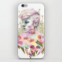 Who Broke You? iPhone & iPod Skin