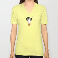 Miss Tea-Time Unisex V-Neck