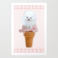 Two Scoops Art Print