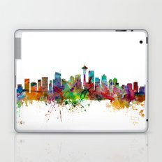 Seattle Washington Skyline Laptop & iPad Skin