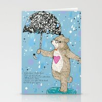 Mister Bear Stationery Cards