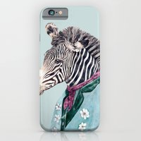 zebra iPhone & iPod Cases featuring Zebra by Animal Crew