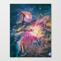 The Awesome Beauty Of Th… Canvas Print