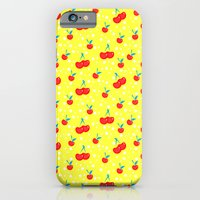 iPhone & iPod Case featuring Very Cherry by Aneela Rashid