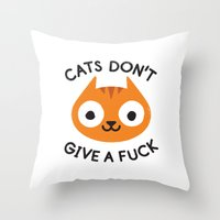 Careless Whisker Throw Pillow