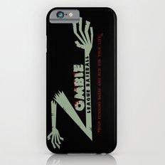 Zombie League Baseball Slim Case iPhone 6s