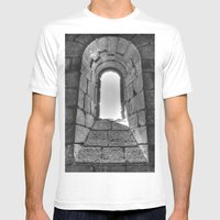 Medieval Window Mens Fitted Tee White SMALL
