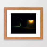 Pub Lights Framed Art Print