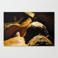 The Boskov Dolomite Caves Canvas Print