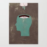 Juicehead... Canvas Print