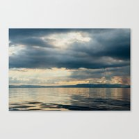 CLOUD SHADOWS Canvas Print