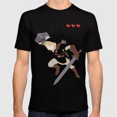The Legend of Zelda - Link Mens Fitted Tee Black SMALL