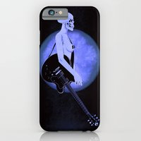 iPhone & iPod Case featuring Skull Of Rock/Black by f_e_l_i_x_x