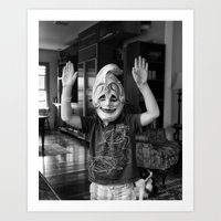 Boy From Venice No Art Print