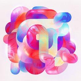 Art Print - Tangled Candy - Mila Spasova