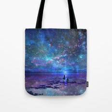 Ocean, Stars, Sky, and You Tote Bag