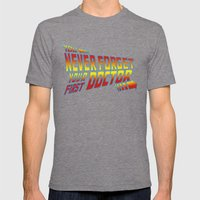 You Never Forget Your First Doctor Mens Fitted Tee Tri-Grey SMALL