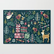 Christmas Joy Canvas Print
