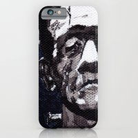 iPhone & iPod Case featuring Frankenstein's Monnster by danberberich