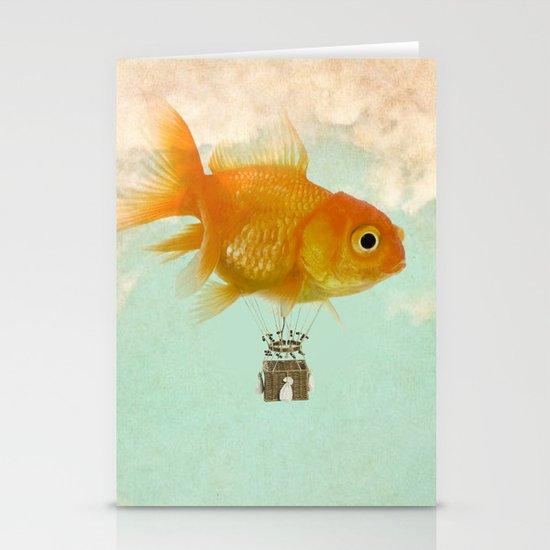 balloon fish 03 Stationery Card