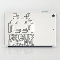 Space Invader iPad Case