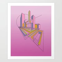 City Movements 04 Art Print