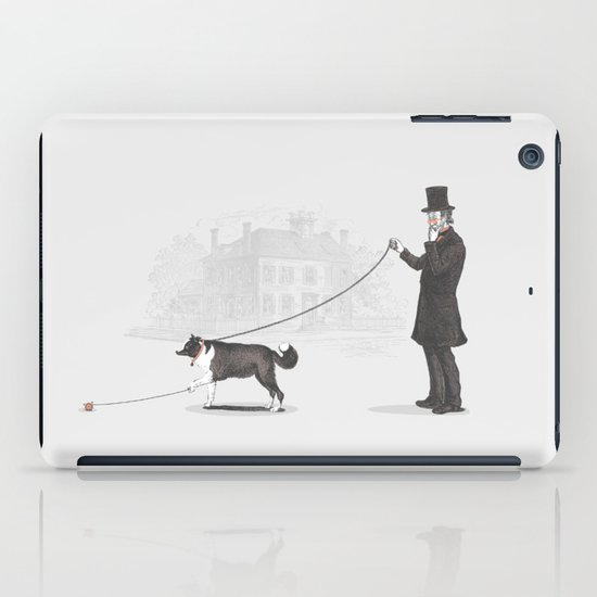 Walking the Dog  iPad Case
