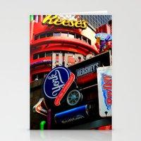 candy lane Stationery Cards