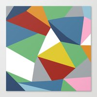Abstraction Zoom Canvas Print