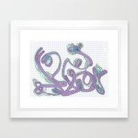 Lilac Framed Art Print