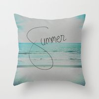 Forever Summer Throw Pillow