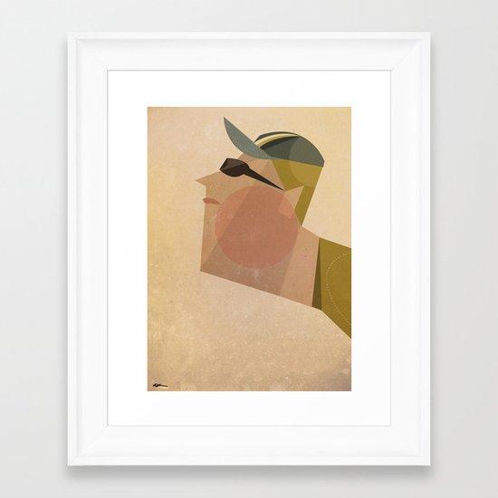 Armstrong Framed Art Print