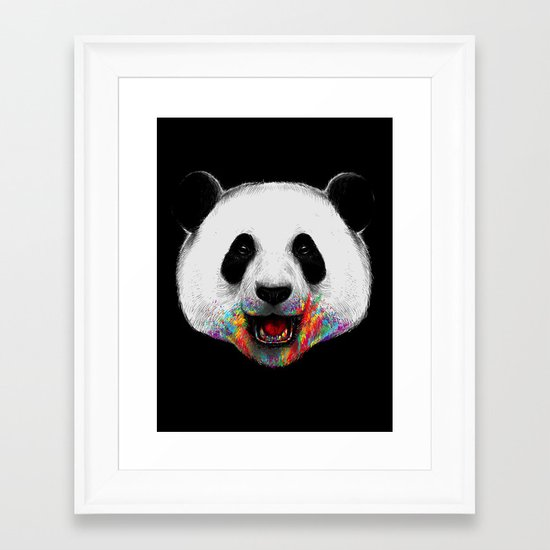 Where is the Rainbow? Framed Art Print