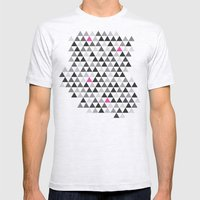 geo Mens Fitted Tee Ash Grey SMALL