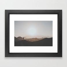Desert Of Egypt I Framed Art Print