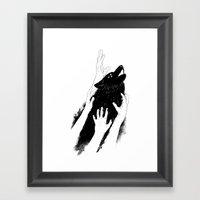 Wolves Of Paris Framed Art Print