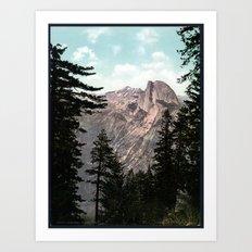 South Dome, Yosemite Valley Art Print
