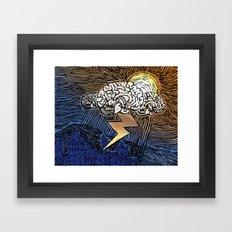 S.a.d. Framed Art Print
